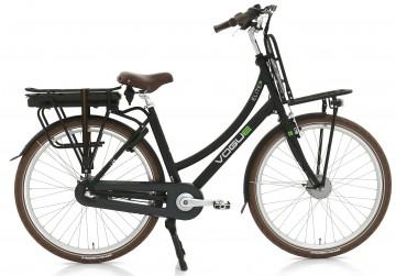 Vogue Elite 3 elektrische transportfiets - mat zwart